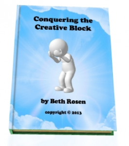 Conquering the Creative Block Original Book Cover
